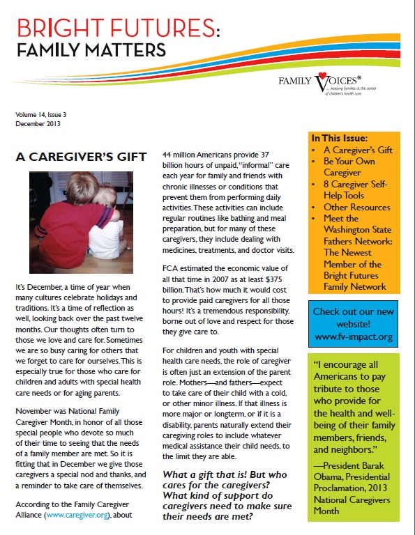 Family matters caregivers
