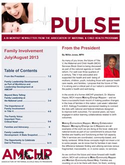 Pulse Newsletter - Family Involvement