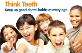 """Think Teeth"" Oral Health Education Materials Help Medicaid/CHIP Enrollment"