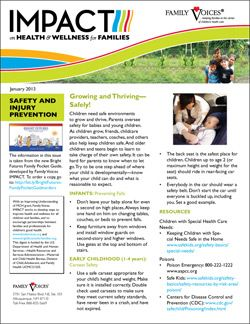 Safety and Injury Prevention Theme Update - January 2013